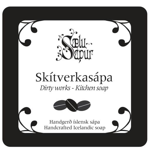 Skítverkasápa logo